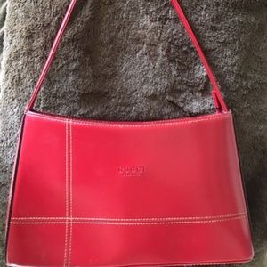 Red Leather Gucci Purse